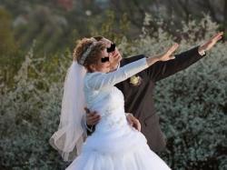 Suknia ślubna Annais tiul+haft 36/38 biała