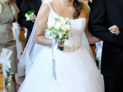 Suknia ślubna Annika Marie Maggie Sottero, tiulowa księżniczka