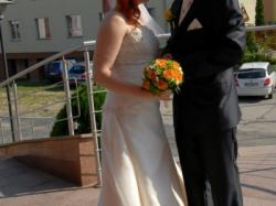 Suknia ślubna - Aspera Bride -Light Gold kolekcja 2010