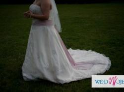 Suknia ślubna Aspera Preludia rozmiar XL 44/46/48 176cm