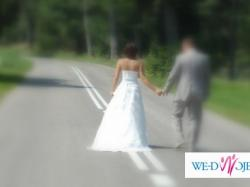 Suknia ślubna ASPERA, super cena !! Stan idealny!