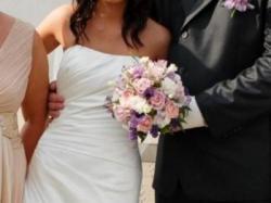 Suknia ślubna Atelier diagonal 2808 z LA SPOSA