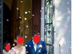 Suknia ślubna Atelier Diagonal Odin 5040 r 34