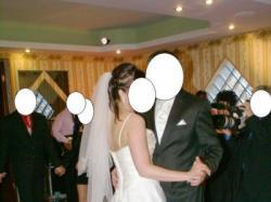 Suknia ślubna+ atrakcyjne dodatki