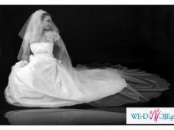 Suknia ślubna AWA, model 2007, + masa dodatków