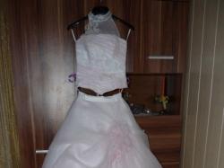 Suknia ślubna Azalia i kamizelka + musznik