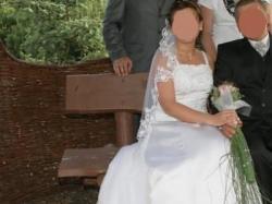 Suknia ślubna bajkowa