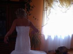 Suknia ślubna bardzo oryginalna