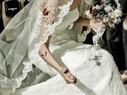 suknia slubna Beret z San Patrick 2008 kolor śmietankowy, roz 36/38
