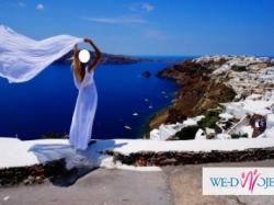 Suknia ślubna bez pleców! + welon + tren + narzutka