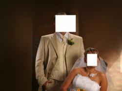 suknia ślubna biał na duży biust