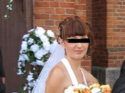 suknia ślubna biała 38 jak nowa na 164cm wzrostu