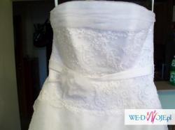 Suknia ślubna-biała