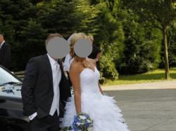Suknia ślubna Biała Adria Piórka