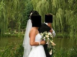 Suknia Ślubna Biała Dama rozm 38