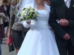Suknia ślubna biała FURIO model SIRK roz.r 38+ GRATISY