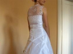 Suknia ślubna, biała, jednoczęściowa, rozmiar 36-38, Katowice