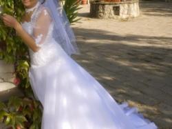 Suknia ślubna biała - Justin 8431 rozmiar 36-38