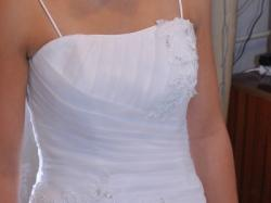 Suknia ślubna biała kupiona w roku 2013