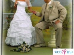 "suknia slubna biała model""Roma"" salon Sophia"