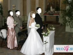 Suknia ślubna biała Papa Michel