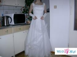 Suknia Ślubna Biała Przepiękna