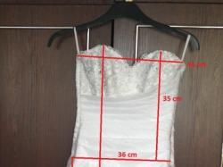 Suknia ślubna biała roz 38-40