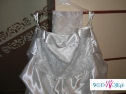 Suknia ślubna biała roz.44