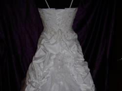 suknia ślubna, biała, rozm. 36
