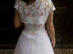 suknia ślubna biała rozm. 40-42