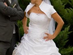 Suknia ślubna, biala rozmiar 36-38