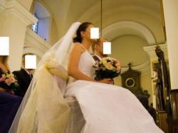 Suknia ślubna biała rozmiar 36