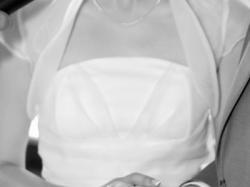 Suknia ślubna - biała, rozmiar 36