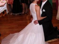 Suknia ślubna biała rozmiar 36 model Nira