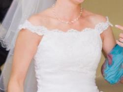 Suknia ślubna biała rozmiar 38 + bolerko gratis