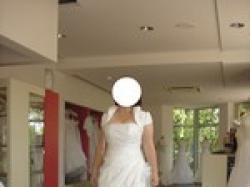 Suknia ślubna biała rozmiar 42