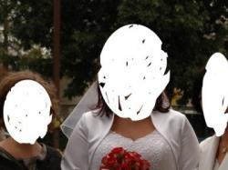 suknia ślubna biała rozmiar 44-46