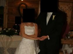 Suknia Ślubna biała + welon + bolerko
