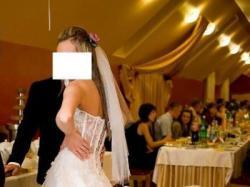 suknia ślubna, biała z gorsetem Cymbeline 36/38