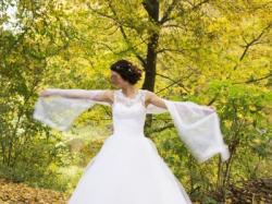 Suknia Ślubna, bolerko