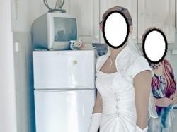 Suknia ślubna+bolerko 38- regulacja wiązaniem
