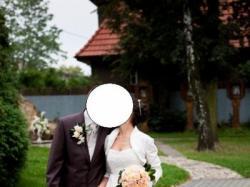 Suknia ślubna + bolerko+ diadem gratis