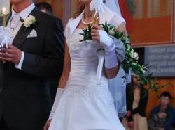 Suknia ślubna + bolerko GRATIS!