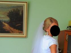 Suknia ślubna +bolerko GRATIS! podkreślająca sylwetkę r.36-38