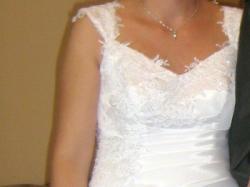 Suknia ślubna + Buty rozm.38 GRATIS!