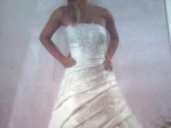 suknia ślubna BYDGOSZCZ sprzedam piękną suknie ślubną kol. ecru