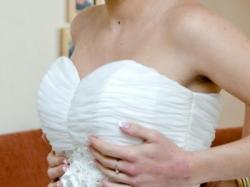 Suknia Ślubna C971 CLASSA kolekcja 2013 Mysłowice