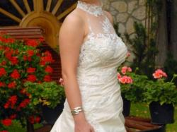 suknia ślubna, cappucino
