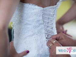 Suknia Ślubna Carmen Biała - Salon Sukni Ślubnych Bianka