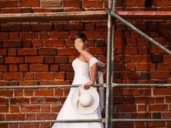 """Suknia ślubna """"Carmen"""" z salonu Biały Raj w Warszawie"""